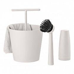 ZONE Súprava na umývanie riadu warm grey BUCKET