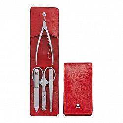 ZWILLING Manikúra 4-dielna TWINOX® Dauphine červená