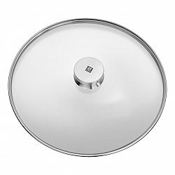 ZWILLING Sklenená pokrievka s úchytom z nehrdzavejúcej ocele Ø 30 cm TWIN® Specials